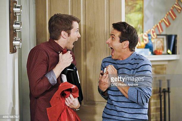 'Thanks A Lot Ronny' Pictured Tyler Ritter as Ronny and Joey McIntyre as Gerald During Thanksgiving dinner the McCarthy family works together to...