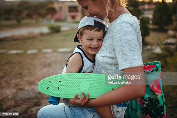 Thanks for skating lessons, mom