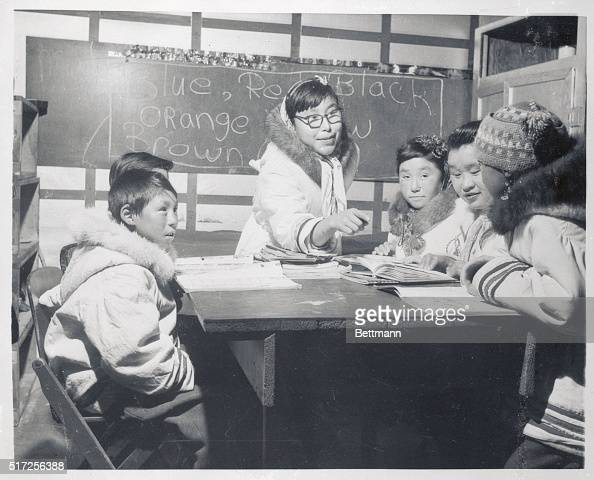 Thanks to a Resolute young woman who took time during a two year stay in a tuberculosis sanitarium to learn English the 13 families of Resolute Bay...