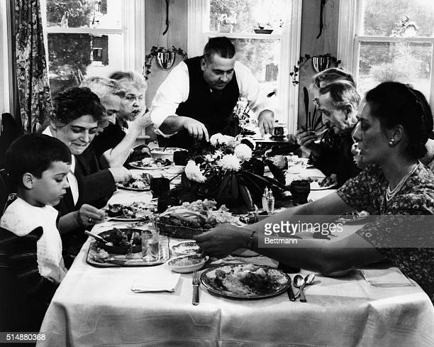 Thanksgiving dinner at a Pennsylvania Country House BPA2# 1248