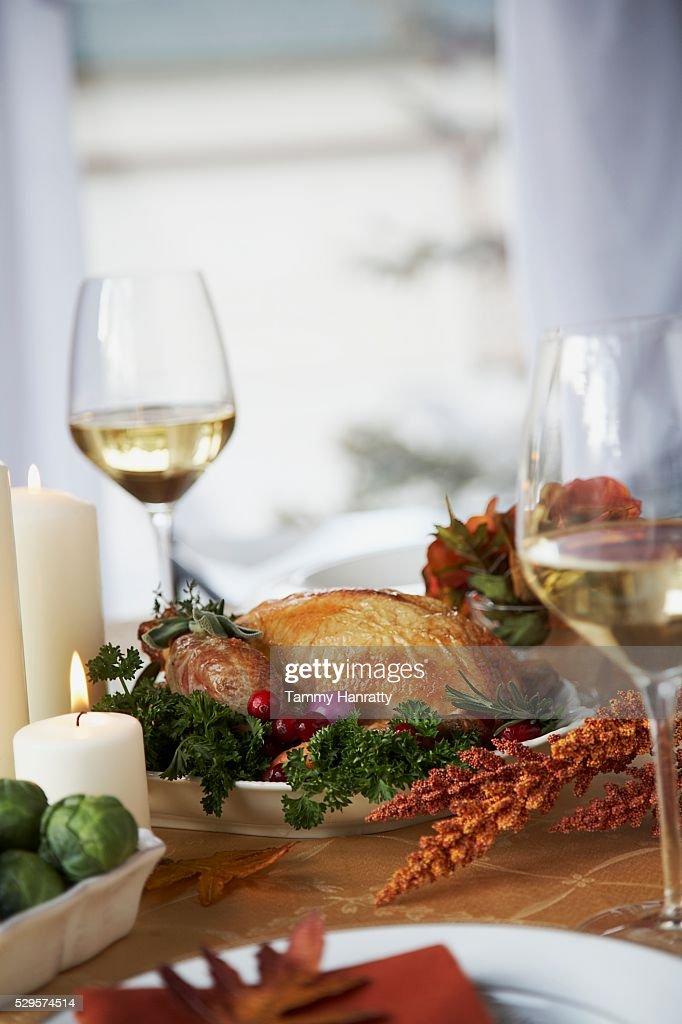 Thanksgiving Dinner : Bildbanksbilder