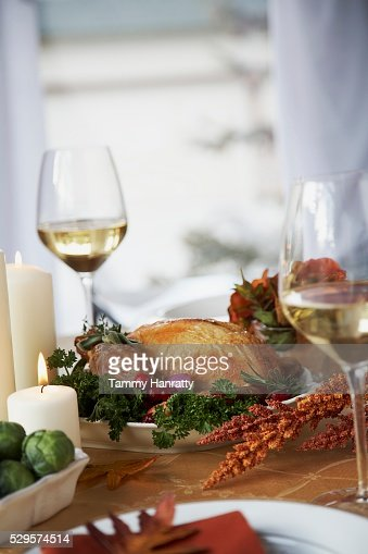 Thanksgiving Dinner : Stock-Foto