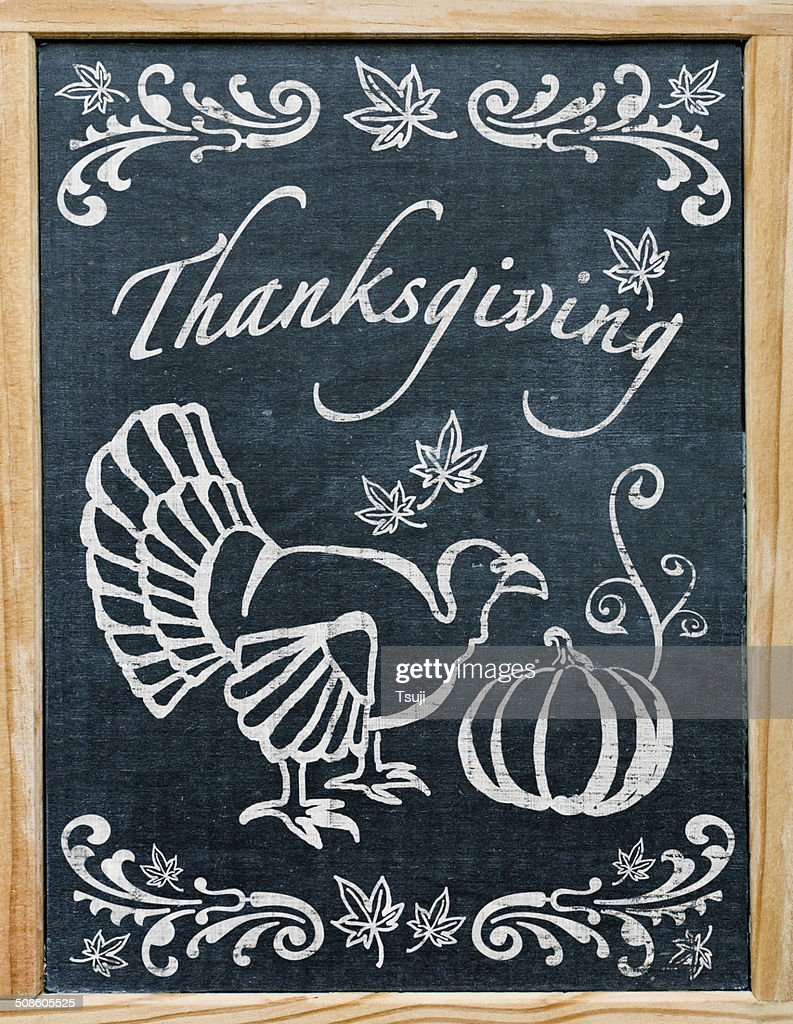 Thanksgiving Greetings : Stock Photo