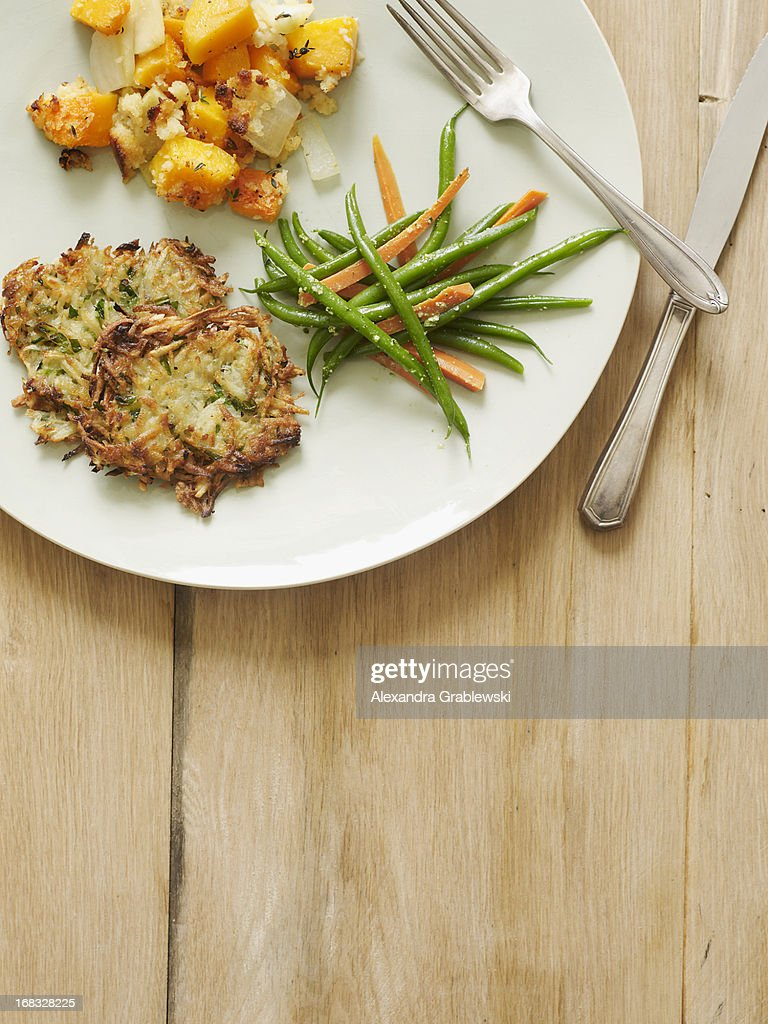 Thanksgiving Plate : Stock Photo