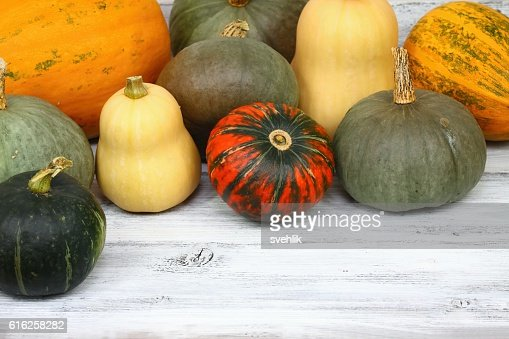 Thanksgiving pumpkin autumn background : Foto de stock