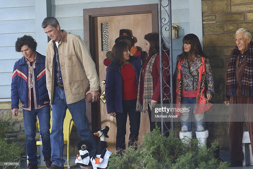 THE MIDDLE - 'Thanksgiving V' - Thanksgiving finds the Heck family in turmoil when Axl tries to figure out the perfect time to tell his parents that he dropped three out of his four college classes. Frankie's dad, Tag, admits to Mike that he lost a lot of money gambling online and won't be able to take his wife Pat on a planned cruise. Sue is hiding a shocking secret from her discount shopping excursion with Frankie, Dr. Goodwin and Uncle Rusty's wife and kids show up unannounced for Thanksgiving dinner, and Brick goes to extreme measures to have lime green jello salad during the feast, on 'The Middle,' WEDNESDAY, NOVEMBER 20 (8:00-8:30 p.m., ET) on the ABC Television Network. DYKE