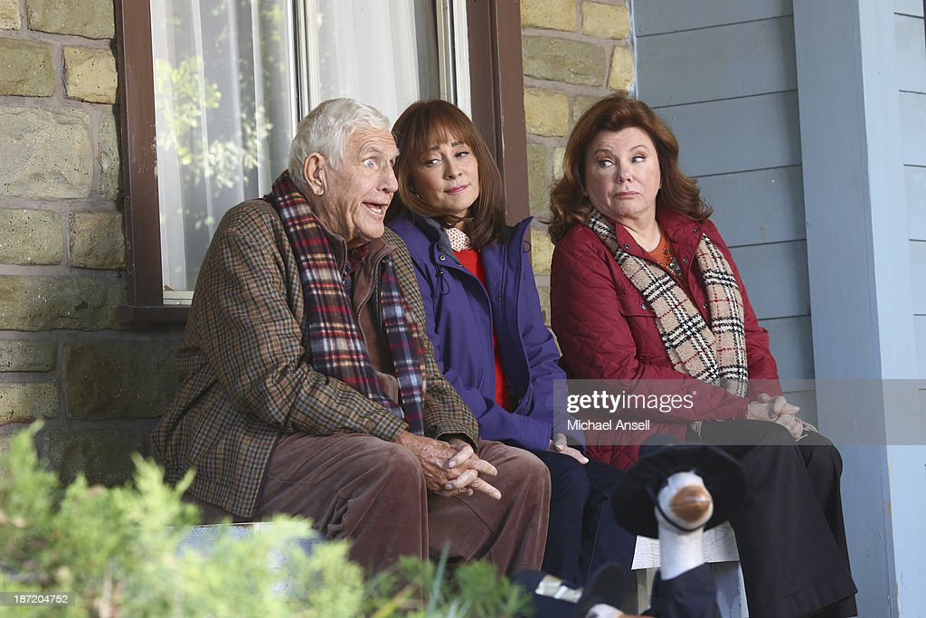 THE MIDDLE - 'Thanksgiving V' - Thanksgiving finds the Heck family in turmoil when Axl tries to figure out the perfect time to tell his parents that he dropped three out of his four college classes. Frankie's dad, Tag, admits to Mike that he lost a lot of money gambling online and won't be able to take his wife Pat on a planned cruise. Sue is hiding a shocking secret from her discount shopping excursion with Frankie, Dr. Goodwin and Uncle Rusty's wife and kids show up unannounced for Thanksgiving dinner, and Brick goes to extreme measures to have lime green jello salad during the feast, on 'The Middle,' WEDNESDAY, NOVEMBER 20 (8:00-8:30 p.m., ET) on the ABC Television Network. MASON