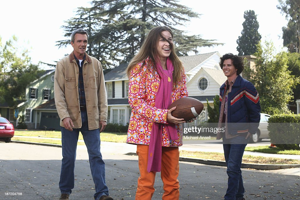 THE MIDDLE - 'Thanksgiving V' - Thanksgiving finds the Heck family in turmoil when Axl tries to figure out the perfect time to tell his parents that he dropped three out of his four college classes. Frankie's dad, Tag, admits to Mike that he lost a lot of money gambling online and won't be able to take his wife Pat on a planned cruise. Sue is hiding a shocking secret from her discount shopping excursion with Frankie, Dr. Goodwin and Uncle Rusty's wife and kids show up unannounced for Thanksgiving dinner, and Brick goes to extreme measures to have lime green jello salad during the feast, on 'The Middle,' WEDNESDAY, NOVEMBER 20 (8:00-8:30 p.m., ET) on the ABC Television Network. MCDERMOTT