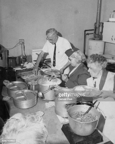 Thanksgiving Was Brighter Thanksgiving dinners were served to 220 indigent men Wednesday by the Volunteers of America mission at 1316 17th St Serving...