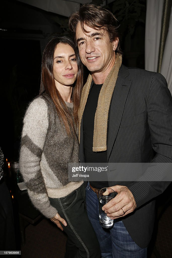 Tharita Catull and actor Dermot Mulroney attend the SILVER LININGS PLAYBOOK Event Hosted By Lexus And Purity Vodka at Chateau Marmont on December 7, 2012 in Los Angeles, California.
