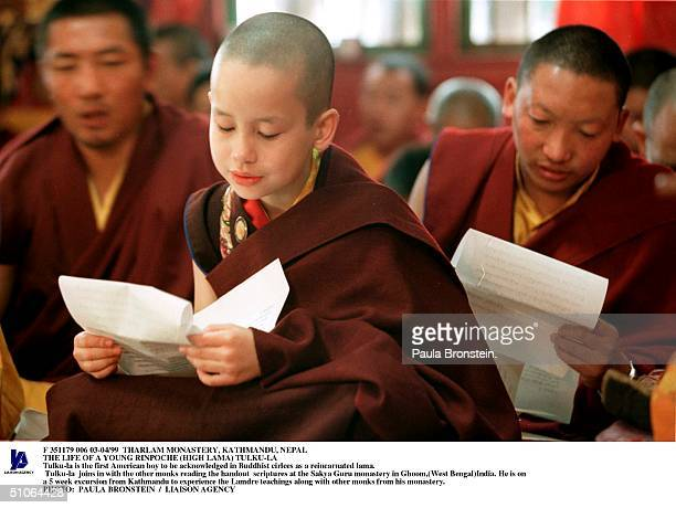 Tharlam Monastery Kathmandu Nepal The Life Of A Young Rinpoche TulkuLa TulkuLa Is The First American Boy To Be Acknowledged In Buddhist Cirlces As A...