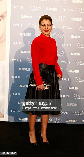 Thaïs Blume attends 'Gala for Tous' collection party photocall at Pons Foundation on January 21 2015 in Madrid Spain