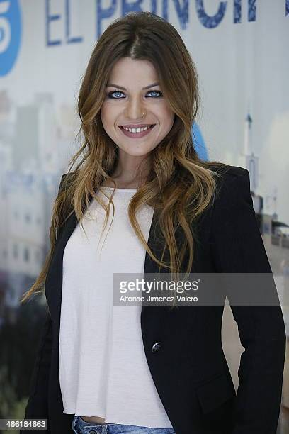 Thaïs Blume attends the News conference of the new tv series 'El Principe' on January 31 2014 in Madrid Spain