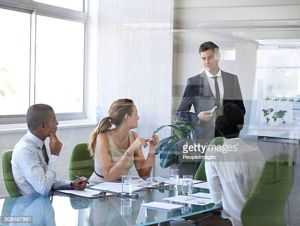 That looks like an extremely productive meeting