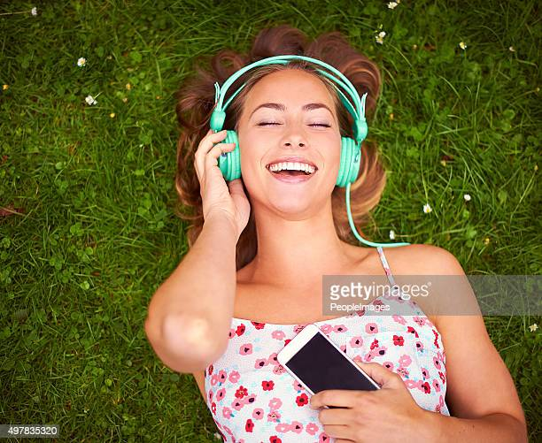 That song always makes her feel happy...