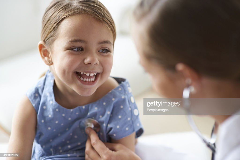 That tickles! : Stock Photo