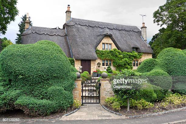 Thatched Cottage in Chipping Campden, Cotswold, England, United Kingdom.