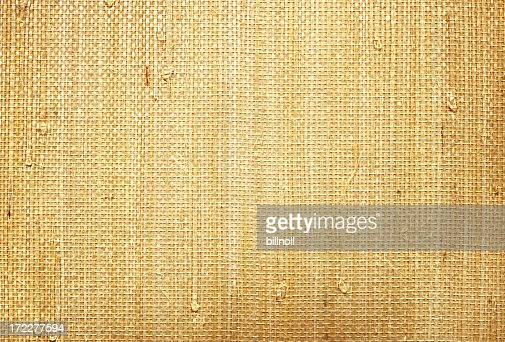 thatched material
