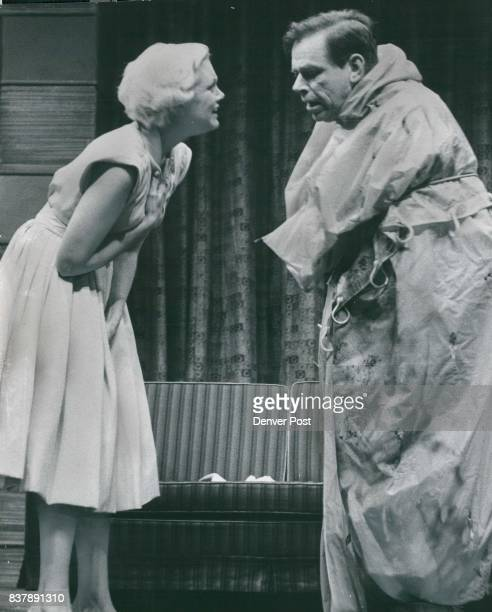 That's No Body That's my Husband Jan Sterling has just found that 'body' wrapped in a shower curtain is her husband Tom Ewell packaged for burial by...