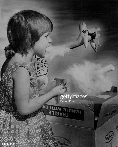 That's Not Smoke Going OutIt's Cotton Candy Going In Kimberly Trevatvan who lives with Saturday at the singleparent community her father at Warren...