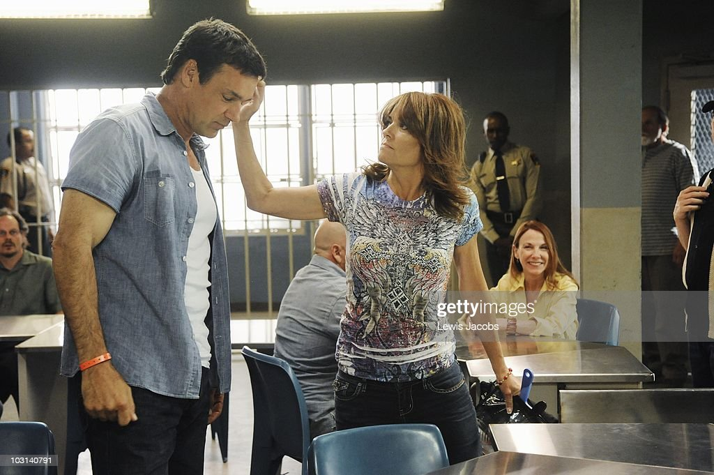 SCOUNDRELS -'That's the Way the Money Goes' - Wolf finds out that a family member betrayed him and causes a prison riot, Cheryl is confused by the sexual energy between and Mack and herself during a kerfuffle, and Heather meets the love of her life, on 'Scoundrels,' SUNDAY, AUGUST 8 (9:00-10:00 p.m., ET) on the ABC Television Network. (Photo by Lewis Jacobs/ABC via Getty Images) DAVID