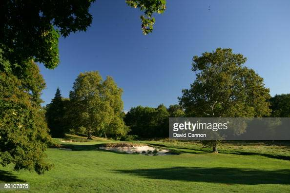 The 127 yard par 3 13th hole on the East Course at Merion Golf Club on September 22 2005 in Ardmore Pennsylvania United States