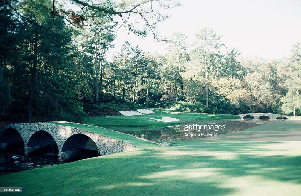 The 12th hole at Augusta National Golf Club in Augusta, Georgia.