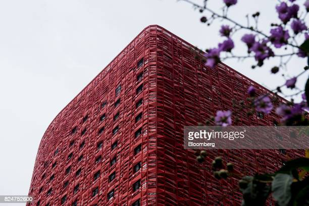 The 13 Hotel developed by 13 Holdings Ltd stands in the Coloane Village district of Macau China on Monday July 31 2017 13 Holdings missed a Monday...