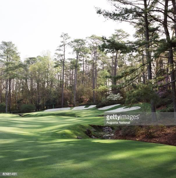 The 13th green during the 1993 Masters Tournament at Augusta National Golf Club in April 1993 in Augusta Georgia