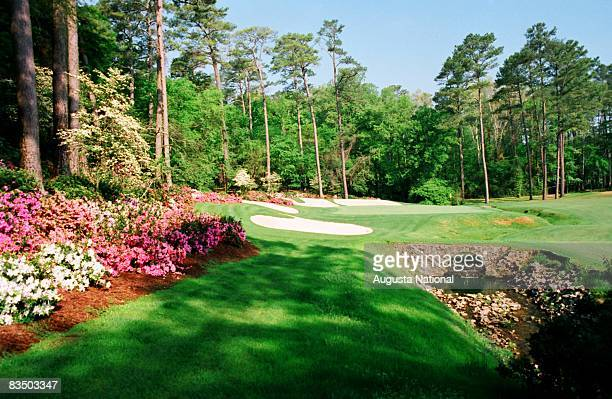 The 13th hole at Augusta National Golf Club in Augusta Georgia