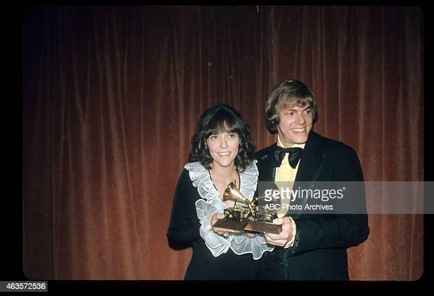 AWARDS The 14th Annual Grammy Awards Airdate March 14 1972 THE CARPENTERS