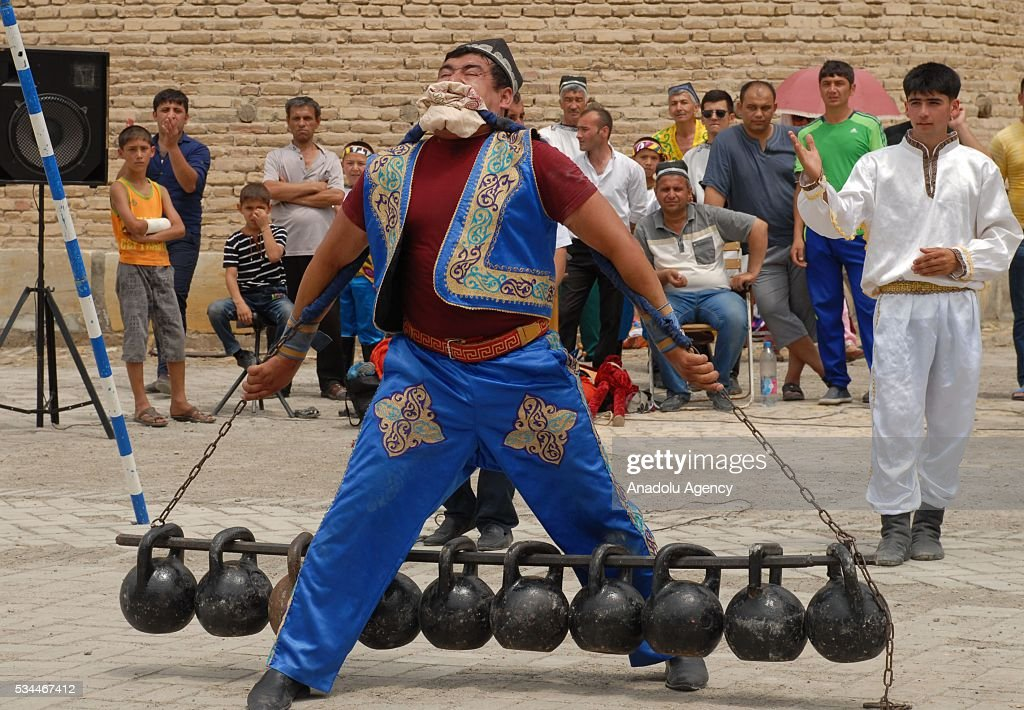 The 15th Silk and Spices Festival is held in Bukhara, Uzbekistan on May 26, 2016.
