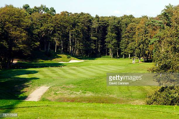 The 179 yards par 316th hole at the Halmstad Golfklubb venue for the 2007 Solheim Cup on September 17th in Halmstad Sweden