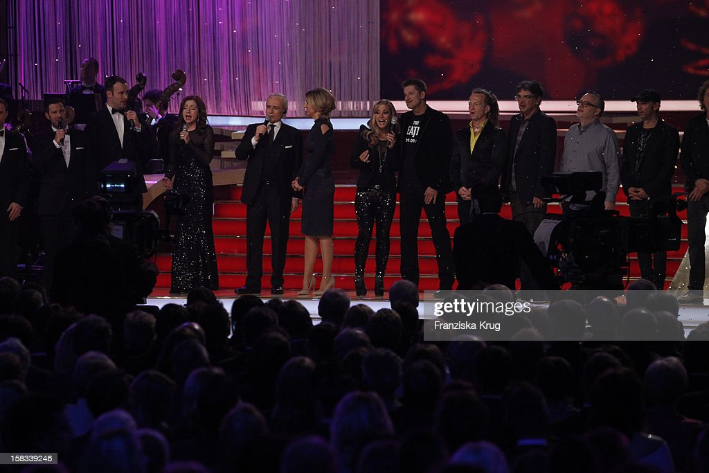 The 18th Annual Jose Carreras Gala on December 13, 2012 in Leipzig, Germany.