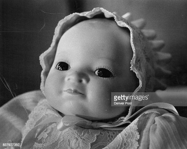 The 1923 Bye lo baby doll exhibits artistic detailing in her feathery eyelashes and eyebrows Credit Denver Post