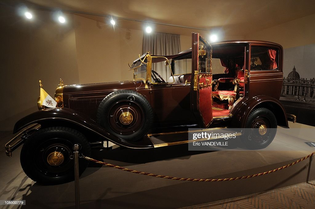 . The 1930s Citroen C6 Lictoria of Pius XI complete with a throne in the back seat. Pius XI (1922-1939), who was Pope when the pacts were signed is the true 'founder' of Vatican City State . The exposition - titled '1929-2009.: Eighty Years of Vatican City State' - will be held until May 10. Vatican City State was founded following the signing of the Lateran Pacts between the Holy See and Italy on February 11th 1929. Its nature as a sovereign State is universally recognised under international law.