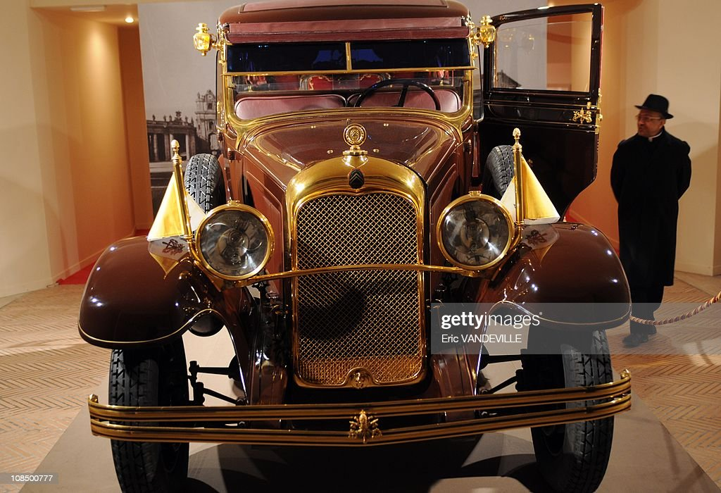 . The 1930s Citroen C6 Lictoria of Pius XI (1922-1939), who was Pope when the pacts were signed . He is the true 'founder' of Vatican City State . The exposition - titled '1929-2009.: Eighty Years of Vatican City State' - will be held until May 10. Vatican City State was founded following the signing of the Lateran Pacts between the Holy See and Italy on February 11th 1929. Its nature as a sovereign State is universally recognised under international law.