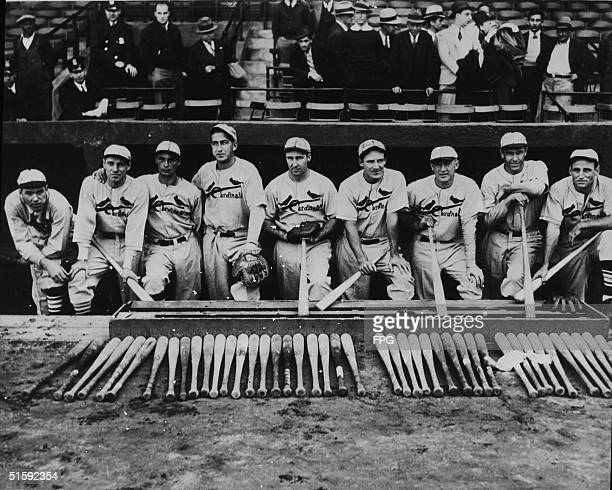 The 1934 St Louis Cardinals baseball team called the Gashouse Gang which dominated the National League and won the World Series that year includes...