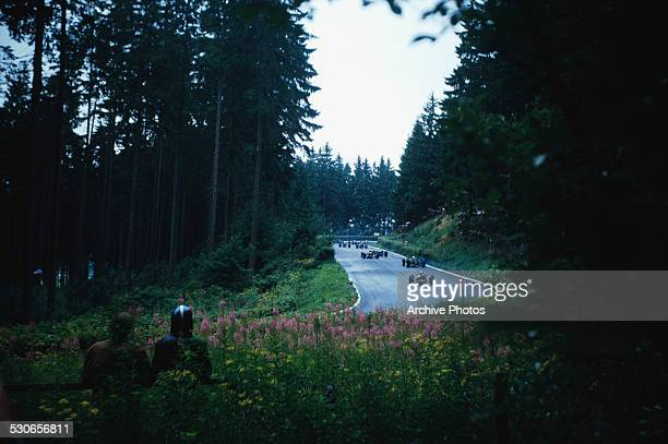 The 1966 German Grand Prix at the Nürburgring Nordschleife in Nürburg Germany 7th August 1966
