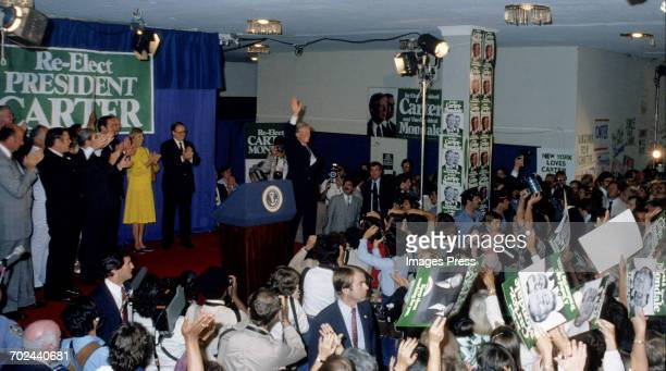 The 1980 Democratic National Convention held at Madison Square Garden circa 1980 in New York City