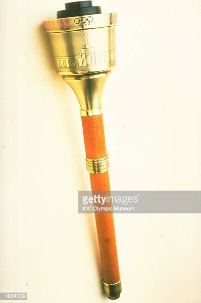 The 1984 Los Angeles Summer Olympic Games Torch The torch is in the IOC Olympic Museum in Lausanne Switzerland Mandatory Credit IOC Olympic Museum...