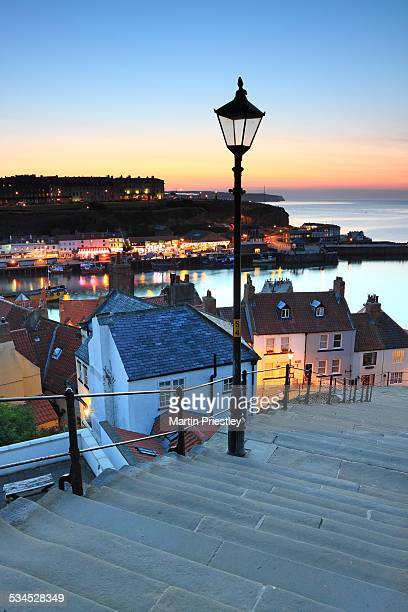 The 199 Steps at Whitby
