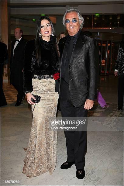The 2006 FIA Gala held in Monaco city Monaco On December 08 2006Renault's Formula One team manager Flavio Briatore and his girlfriend Elisabetta...