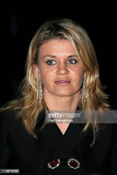 The 2006 FIA Gala held in Monaco city Monaco On December 08 2006Michael Schumacher's wife Corinna arrives at the 2006 FIA Gala