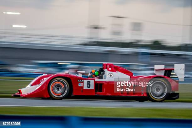The 2007 Lola B07 of Steve Scullen and Gunnar Jeannette races on the track during the Classic 24 at Daytona Historic Sportscar Race at Daytona...