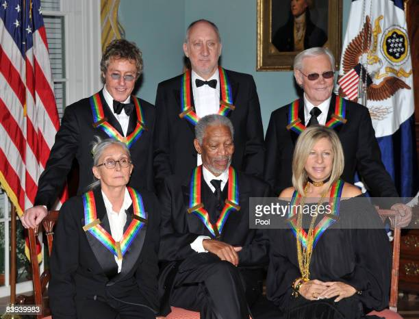 The 2008 Kennedy Center honorees Singer Roger Daltrey guitarist Pete Townshend country music singer George Jones dancer and choreographer Twyla Tharp...