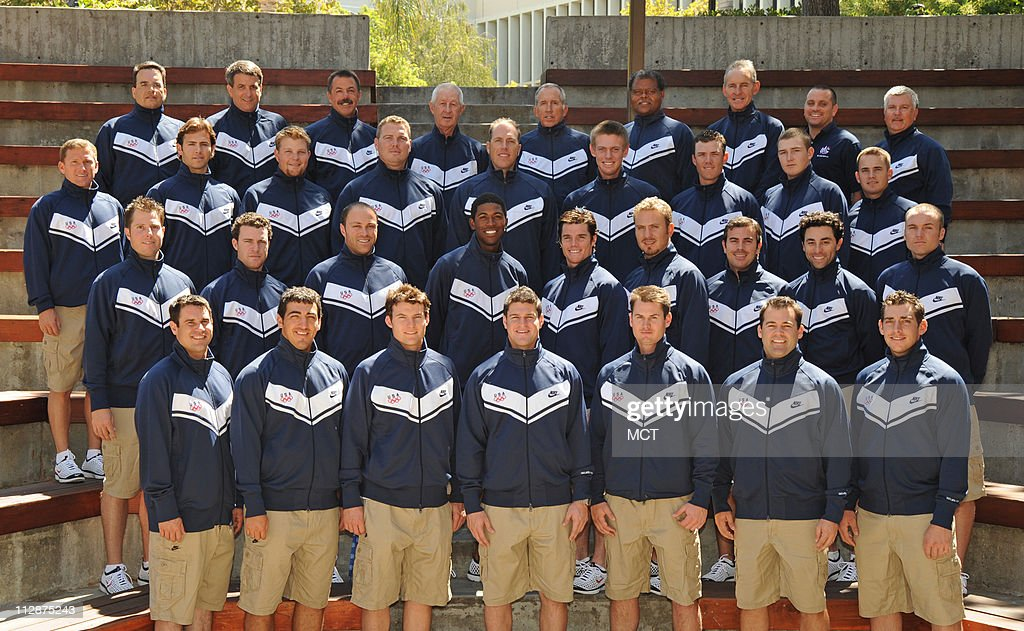 The 2008 U.S. Olympic Baseball team.