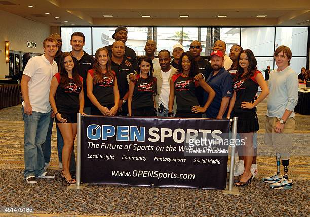 The 2008 World Championship of Fantacy Football Celebrity League at the Hilton Hotel and Casino on September 5 2008 in Las Vegas Nevada