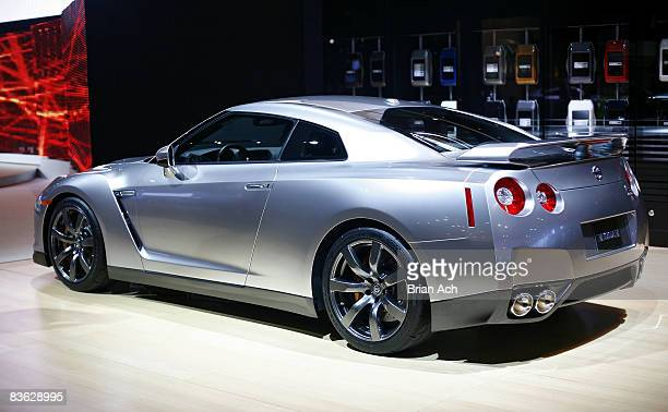 The 2009 Nissan GTR at the 2008 New York International Auto Show at the Javitz Center on March 19 in New York City