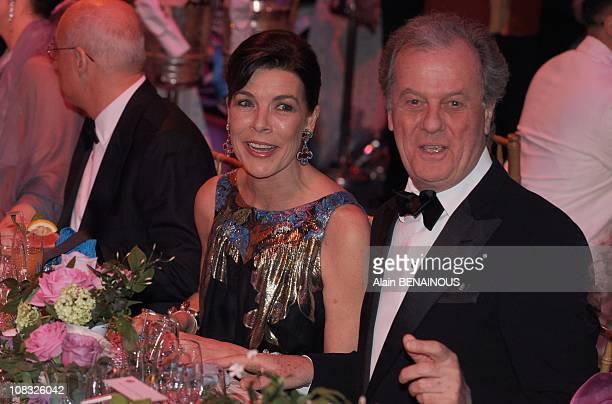 The 2010 Rose Ball 'Bal de la Rose Morocco' Caroline of Hanover in Monte Carlo Monaco on March 27th 2010